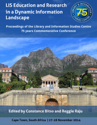 Cover for LIS Education and Research in a Dynamic Information Landscape: Proceedings of the Library and Information Studies Centre 75 years Commemorative Conference